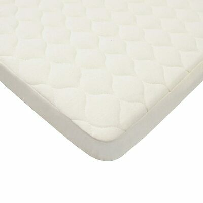 American Baby Company Natural Organic Cotton Bassinet Mattress Pad Cover
