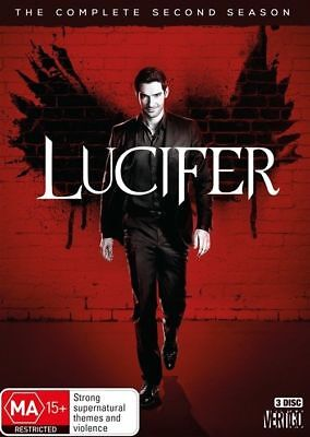 Lucifer : Season 2 (DVD, 3-Disc Set) NEW
