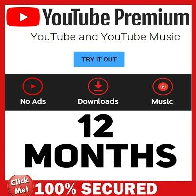 YouTube Premium & YouTube Music 12 Months | Brand New ACCOUNT | FAST & EASY