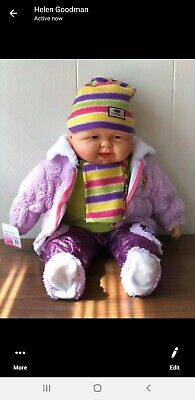 "20"" Lifelike Size Large Happy Face Soft Bodied Baby Doll Toy lot 3"