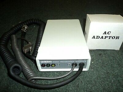 Uniden AMX-501 Radio Programming / Programmer Interface with adapter 100% TESTED