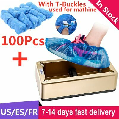 Automatic Shoes Cover Dispenser Household Stepping Disposable Booties Maker