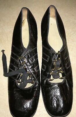 1980 ladies size 7-71/2 tap shoes used