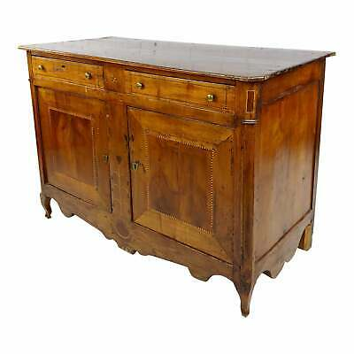 18th century Inlaid French Fruitwood Buffet w/Lone Star in front