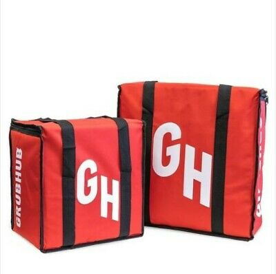 Insulated Delivery Grubhub Bag Set of 2