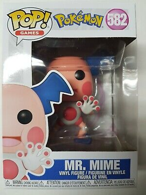 Funko Pop Pokemon #582 Mr. Mime Figure Brand New