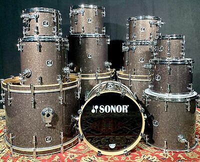 Sonor S Classix Birch Black Glass Glitter - 12 Sizes to Choose From