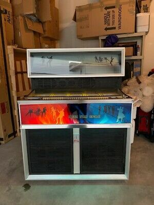 Seeburg SS160 Jukebox 1967 Stereo Showcase Very rare! Collectible, It Works!