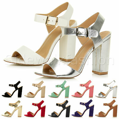 KOI COUTURE PLATFORMS CHUNKY HIGH HEELS STRAPPY SANDALS BARELY THERE SHOES DC1
