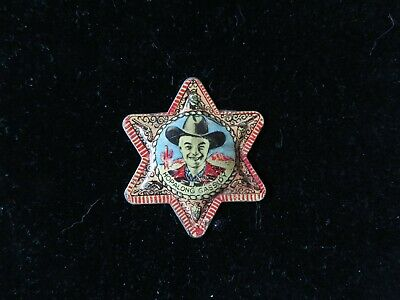 Hopalong Cassidy Badge Post Cereal