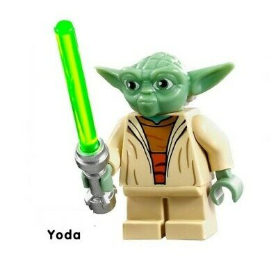 G3 - Yoda Star Wars - Custom Minifigure Gashapon MOC LEGO - Nuovo in Blister
