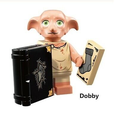 G3 - Dobby Potter Movie - Custom Minifigure Gashapon MOC LEGO - Nuovo in Blister