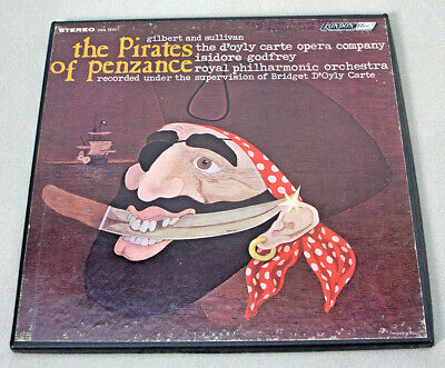 The Pirates of Penzance 2 Record Box Set by Gilbert and Sullivan