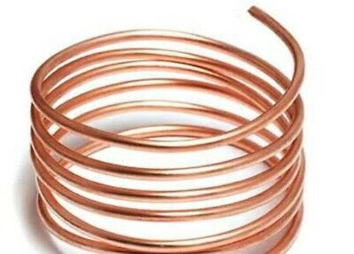5 mm Copper Pipe . Heating copper plumbing pipe/tube x 1 Metre £ 1.49