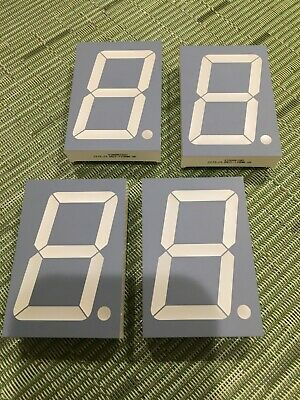 Lot of four SA23-11SRWA displays