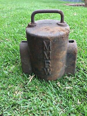Antique MMBW Meter Cover