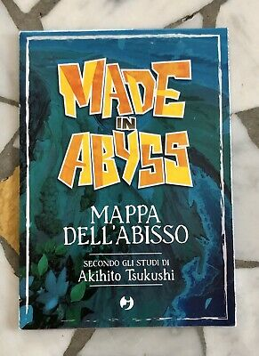 J POP Made in Abyss Mappa dell'Abisso Nuova Manga Promised Neverland,Berserk...