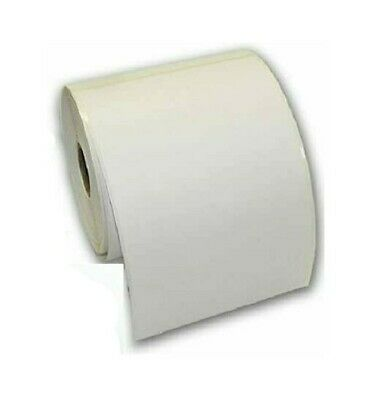 "4 ROLLS 100 x 150mm (6x4"") 500 WHITE Thermal Labels Roll & CARD WALLET"