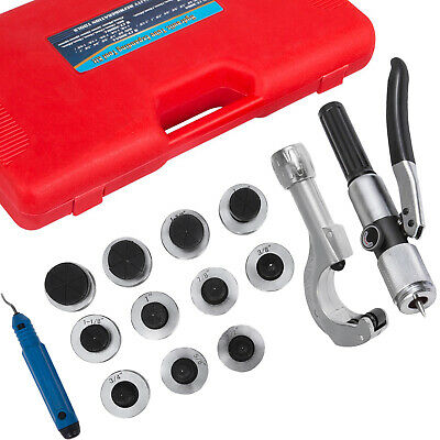 """11 Lever Hydraulic Tubing Expander 3/8"""" - 1-5/8"""" Swaging Punches HVAC Tools"""