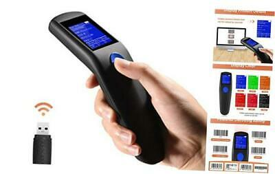 Trohestar Nuberopa N2 Wireless Barcode Scanner 1D Portable Bar Code Reader