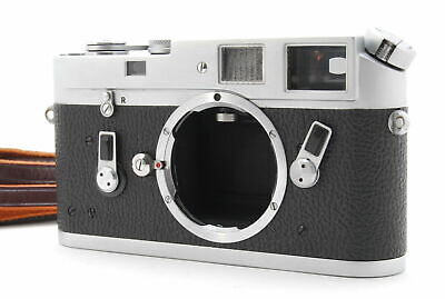 [B V.Good] Leica M4 Chrome 35mm Rangefinder Film Camera Body From JAPAN 6307
