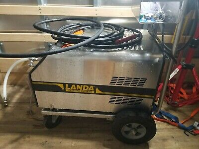 STAINLESS CIP Landa SEA3 120V Pressure Washer W/ ROTATING SS TANK CLEANING HEAD