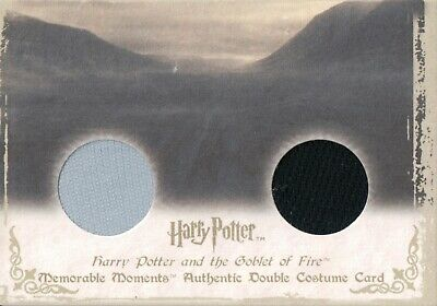 Harry Potter Memorable Moments, Authentic Dual Costume Card DC7 #49/210
