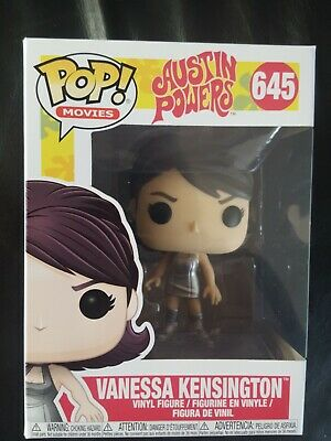 Vanessa Kensington Vinyl Collectable Figure #645 FunkoAustin Powers Pop