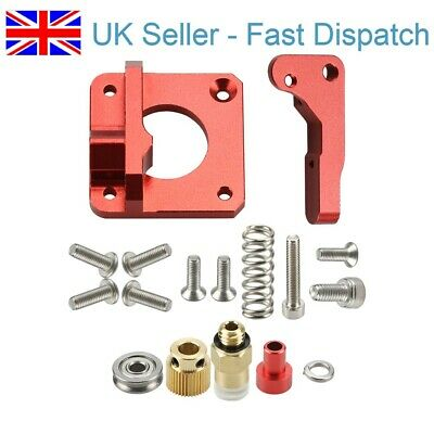 MK8 MK9 Red Extruder 3D Printer All Metal Bowden Extruder Kit Right Hand CR-10