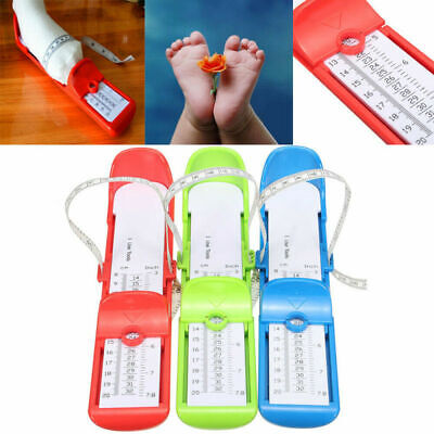 Kid Children Foot Measure Gauge Shoes Size Feet Measuring Length Ruler Tool Baby