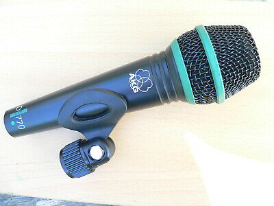 AKG D770 microphone + support clip