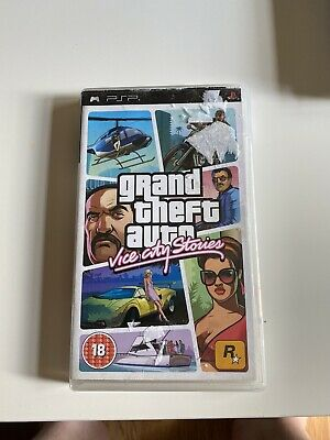 Grand Theft Auto GTA vice city stories psp