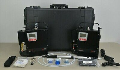Set of 2 Photovac DataFID Portable Flame Ionization Detector w/ Power Supply