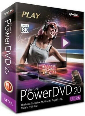 🔥Cyberlink PowerDVD Ultra 20 ⚡ pre-active for Windows✅Fast Delivery️