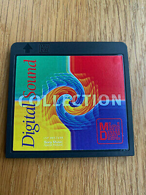 Sony Digital Sound Promo MiniDisc Album MD Various Sampler Collectable Music #2