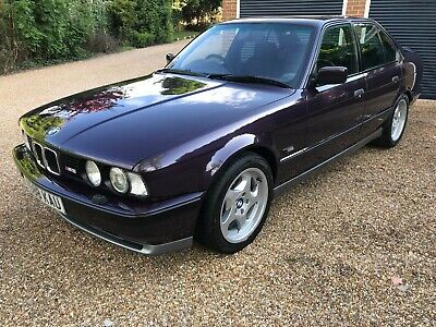 BMW M5 3.8 1993, E34, showroom condition throughout, HPI clear, FSH,