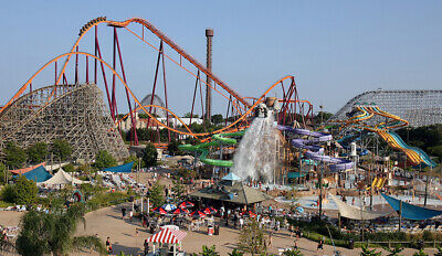 Six Flags Discovery Kingdom in Vallejo, California - 2 x 1-Day Admission Tickets