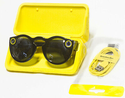 Snapchat Spectacles 1.0 Original First-Gen Black For iPhone