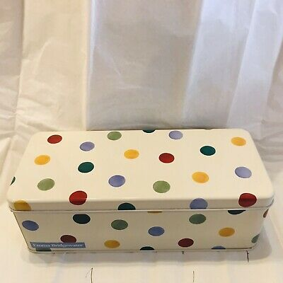 emma bridgewater cracker /biscuit tin  Polka dot design
