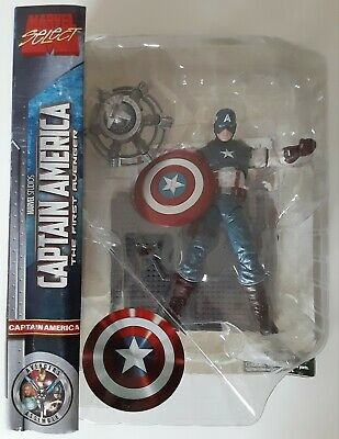 "Marvel Select Captain America the First Avenger 7"" Action Figure Diamond Movie"