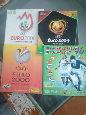 choisir 5 images sticker collection Panini UEFA  Euro 96 2000 2004 2008 2012