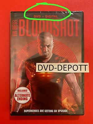 Bloodshot DVD + DIGITAL ****AUTHENTIC READ LISTING**** New FAST Free Shipping
