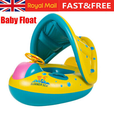 Baby Swimming Ring Inflatable Float Seat Toddler Kid Water Pool Swim Aid Toys