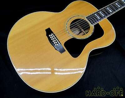 Guild AJ551126 JF55-12 Acoustic Guitar With Hard Case Used Japan Free Shipping