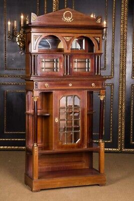 Cabinet Cabinet IN Empire Style Um 1870