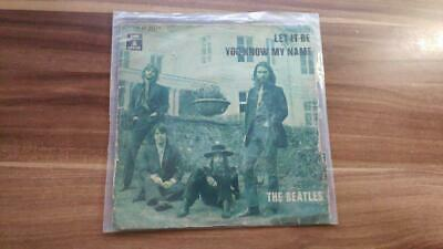 The Beatles – Let It Be / You Know My Name EP