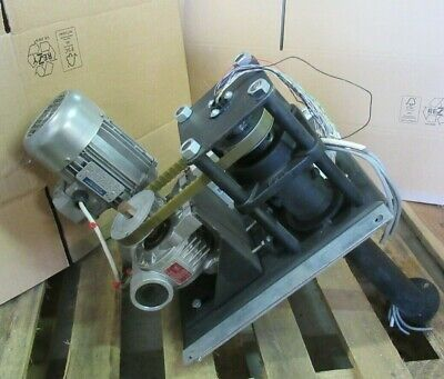 Bonfiglioli Vectron Worm Gearbox Electric Motor w/ SYN10  Frequency Inverter