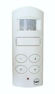Yale SAA5015 Wireless Shed and Garage Alarm, White NEW