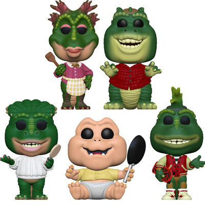 Funko Pop! Dinosaurs TV Complete Set Baby Earl Sinclair IN STOCK NOW