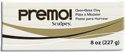 Premo Sculpey Polymer Clay 8oz White 715891499955